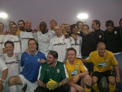 Hollywood United Soccer Game