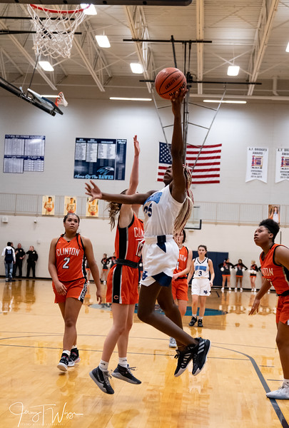 2-13-2020 HVA Girls vs Clinton Varsity Basketball