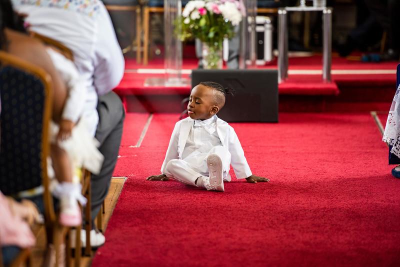 Joshua's Christening