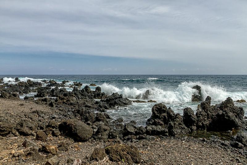 Lava Rock Shoreline