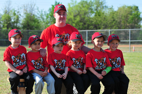 Muckdogs T-Ball 2011 & 2012