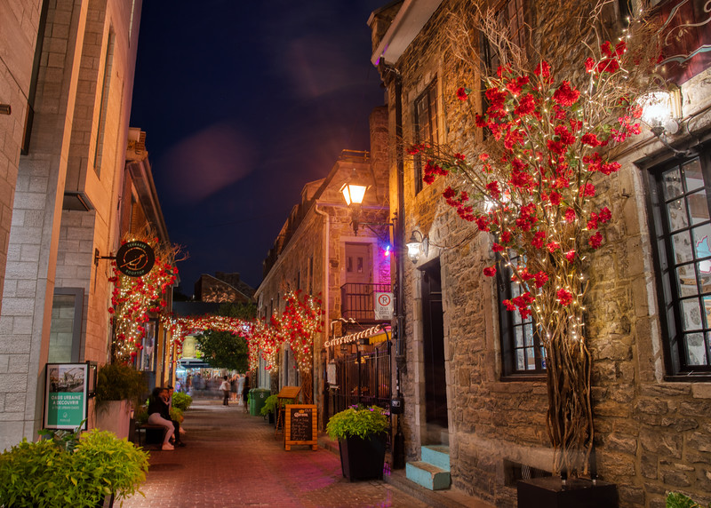 The Old Town in Montreal
