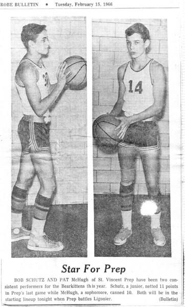 1964-1966 SVP (high school) photos from Dave Fledderman