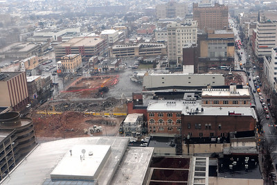 01/17/12 Allentown Arena Site Razing