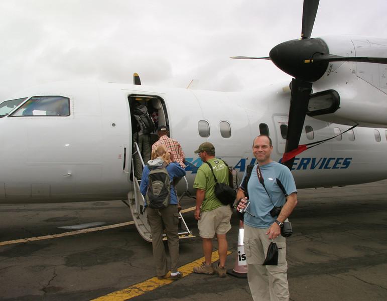 Leaving Tanzania for our next leg of the trip, Rwanda!