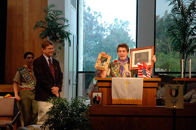 5/24/2006 - Andrew Ruesch's Eagle Court of Honor