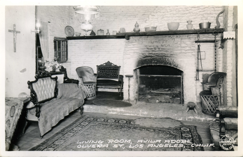 Avila Adobe Living Room