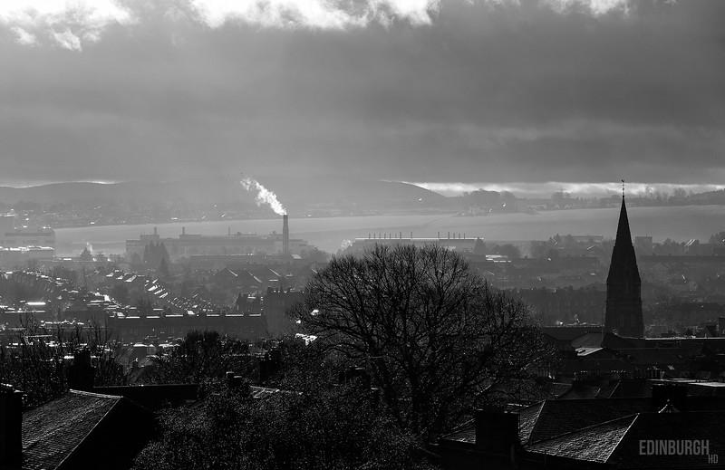 Edinburgh New Town Rooftops