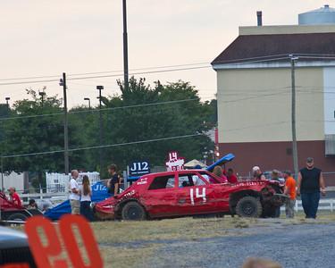 Shenandoah County Fair Demolition Derby 2015