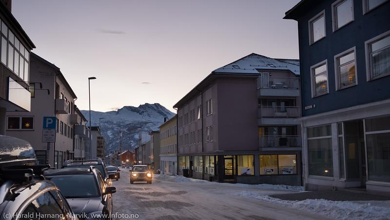 Narvik torg, 12. desember 2017