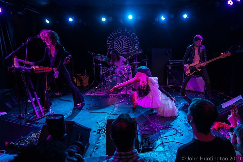 Mother Feather at the Knitting Factory, July 31, 2015