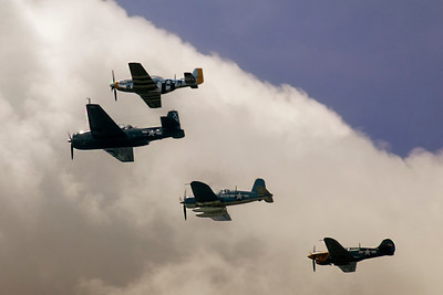 WWII_Airplanes_FlyOverDC