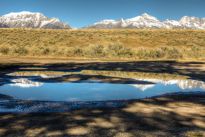 Mirrors off Gros Ventre Road