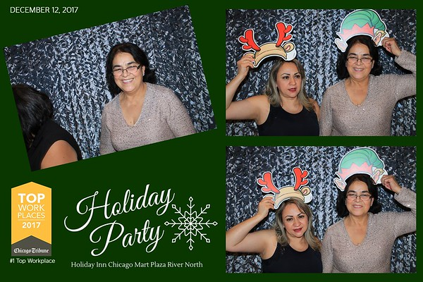 """Holiday Inn Chicago Mart Plaza River North """"Holiday Party 2017"""""""