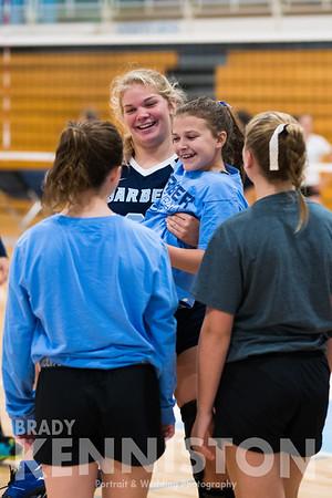 8-29-17 Garber Varsity Volleyball