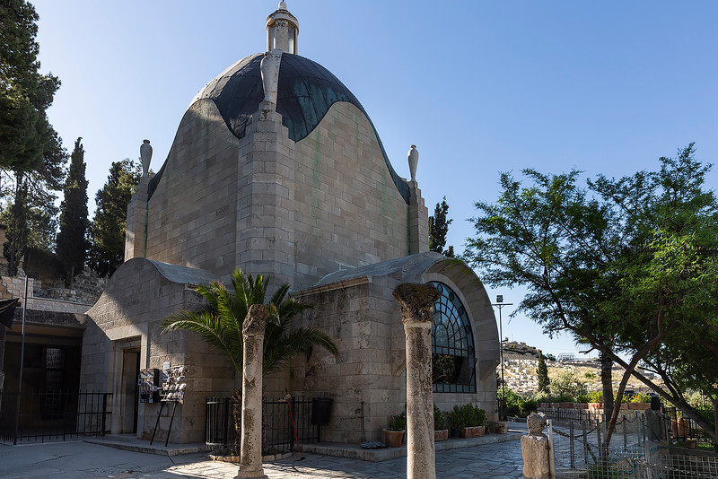Dominus Flevit is a Roman Catholic church on the Mount of Olives, opposite the walls of the Old City of Jerusalem on the Mount of Olives