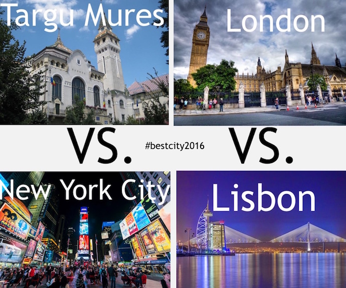 The Best City To Visit Travel Tournament 2016: Final Four