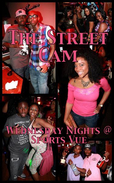 The Street Cam: Wednesday Night @ Sports Vue