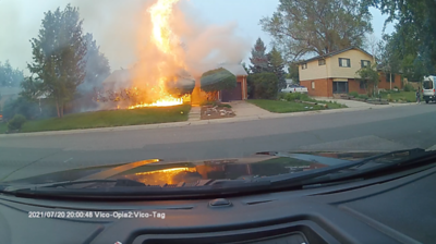 Downing Circle West Fire
