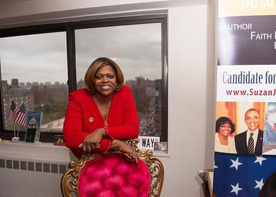 Candidate Ambassador Suzan Johnson Cook  Harlem Fundraiser 9/29/2015