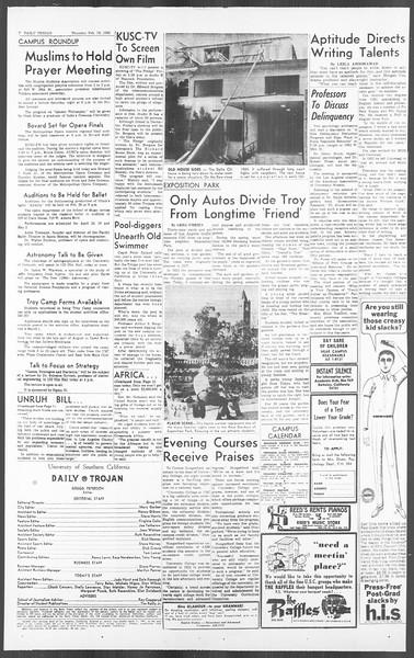 Daily Trojan, Vol. 56, No. 66, February 18, 1965