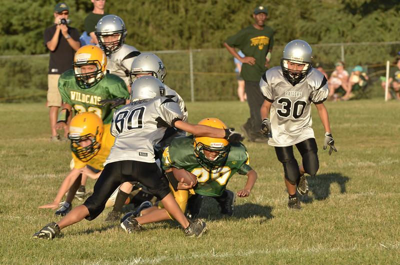 Wildcats vs Raiders Scrimmage 164.JPG