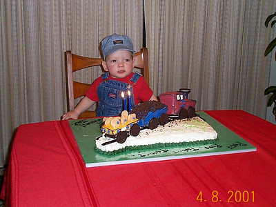 Jack's 2nd Birthday - April 8, 2001