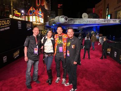 Star Wars Solo Movie Premiere 5/10/18