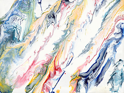 """Shimmering Waves"" (acrylic) by Jane Baldridge"