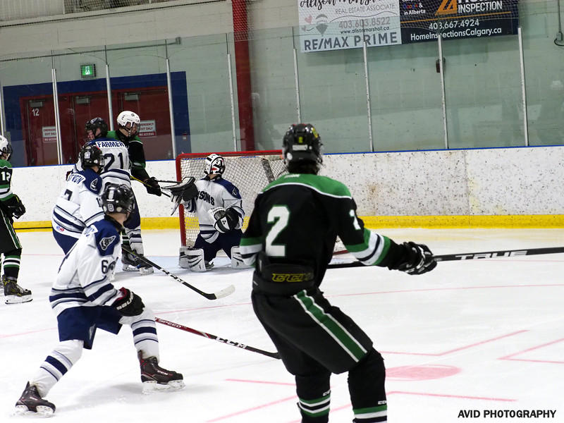 Okotoks Oilers  VS Foothills Bisons Midget AA Dec8 (163).jpg