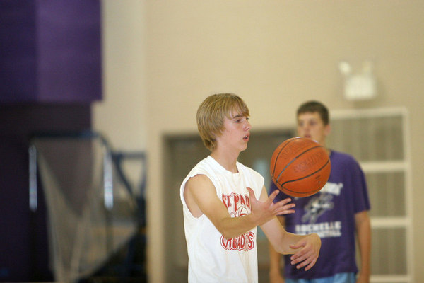 2005-06 HUBS BOYS BASKETBALL CAMP 5th - 8th GRADES