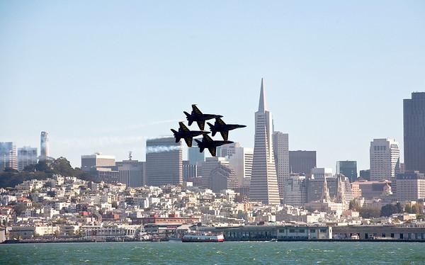 San Francisco Blue Angles 2010
