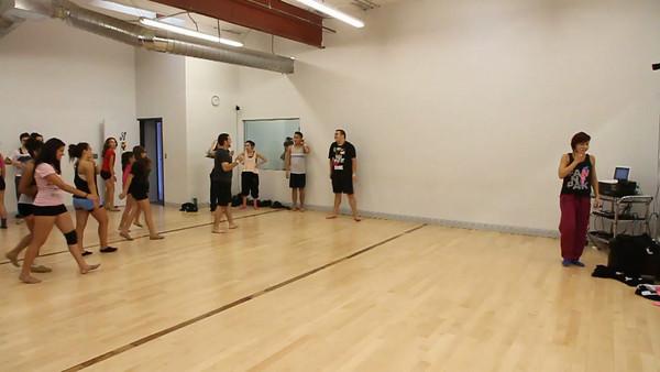 Video Natalie Gilmore Master Classes Albuquerque 2012