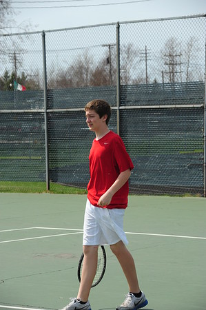 Boy's JV Tennis 2011