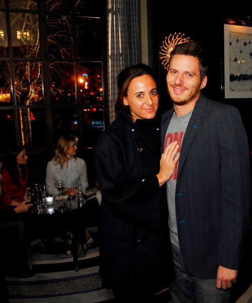 Kyle Samperton,November 4,2009,S t.Regis Hotel,Alyssa Shelasky.Spike Mendelsohn