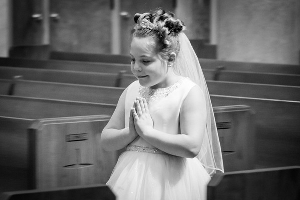 Giuliana's First Holy Communion