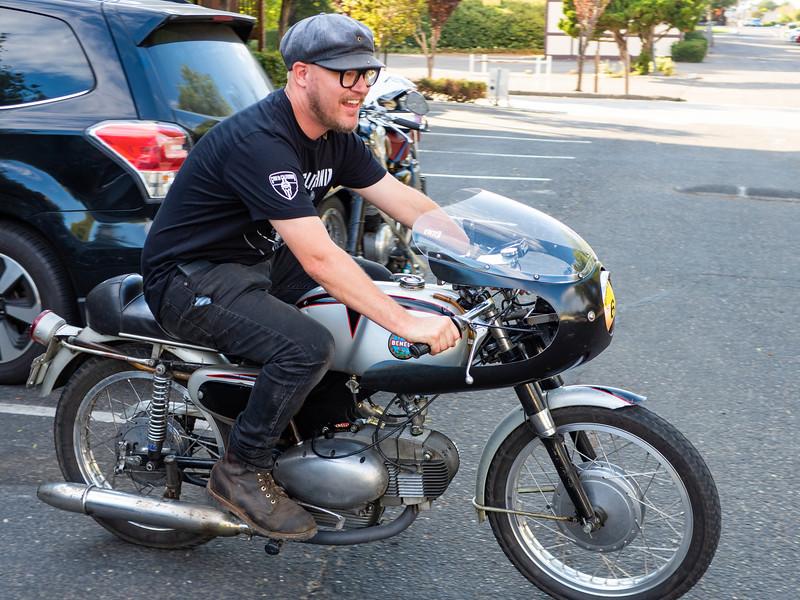 Pure Joy - it's someone else's bike and it runs.