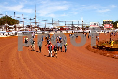 Dixie Speedway Track Walk, March 23, 2019