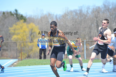 Men's 4x100 - 2014 Gina Relays