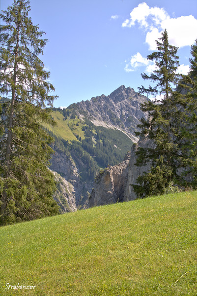 Sonntag-Stein, Vorarlberg, Austria, 08/16/2018