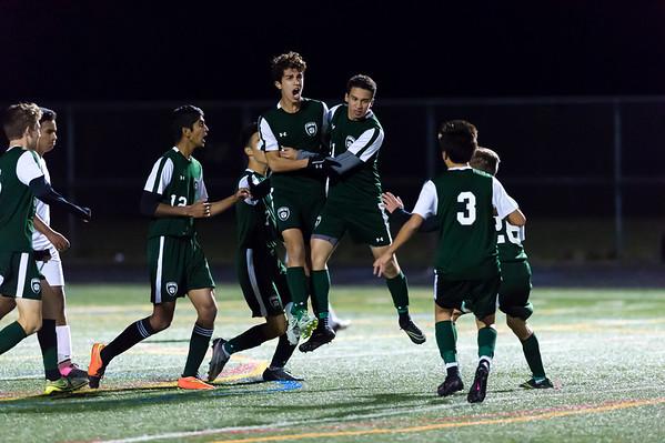 10/28/16 - Atholton vs Hammond Boys Varsity Soccer