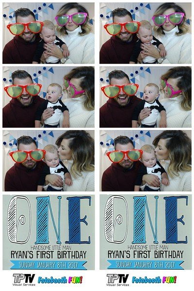 Ryan's First Birthday - Our Pix
