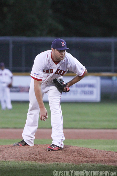 Toronto Maple Leafs at Brantford Red Sox July 4, 2014