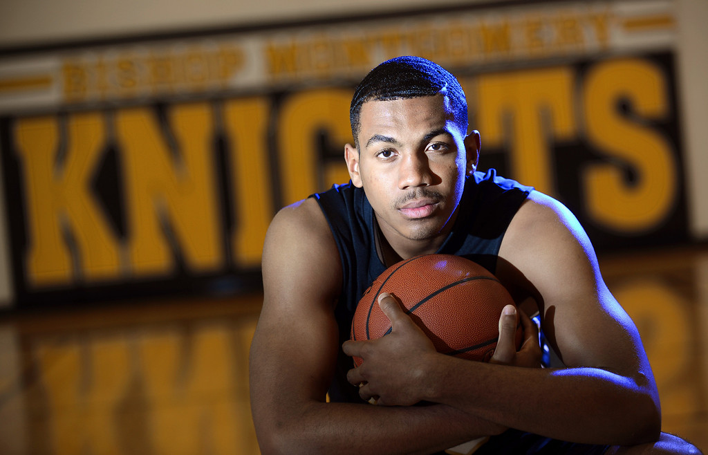 . Lamond Murray Jr. is the Daily Breeze boy\'s basketball Player of the Year for 2012-13 season. Photo by Brad Graverson 3-28-13