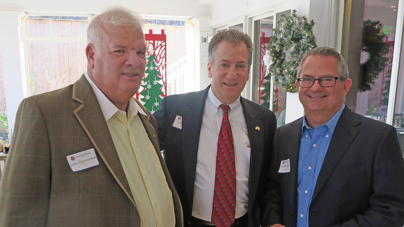 Larry Hammerman '71, Houie Baker '76, and George Connor '81