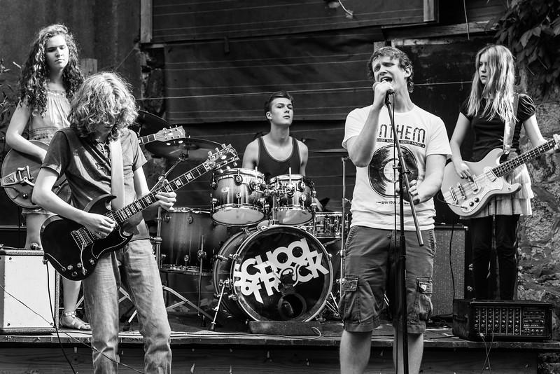 School Of Rock Philly - B Team at Grumblethorpe - June 21st, 2014