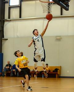 Jan 23 - Basketball - 8th Gr Gold vs St Joseph