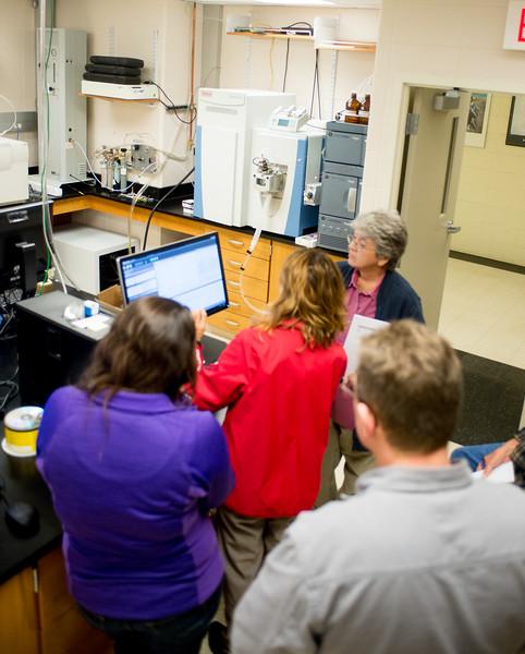 Mass Spectrometer training 2016