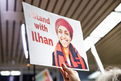 Welcome Home Ilhan Omar - July 18