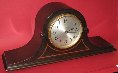 Seth Thomas Cymbal #5 Tambour Mantel Clock Dated 1925